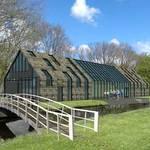 Impressie Schoterboshuis met brug